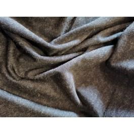 Jersey viscose/laine gris...