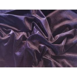 velours polyester noir satiné