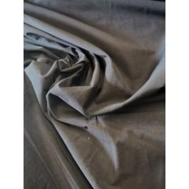 Poly-coton noir fin