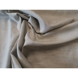 Popeline gris-beige chiné