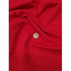 Matelassé jersey losange rouge