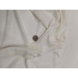 Jersey lin blanc cassé