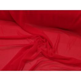 Maille transparente rouge