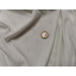 Jersey blanc ajouré étoile