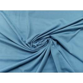 Jersey uni bleu tendre
