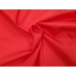 Doublure polyester rouge vif