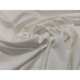 Jersey blanc uni