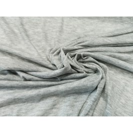 Jersey fin gris chiné