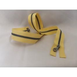 Fermeture riri 60 cm jaune