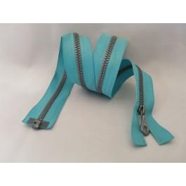 Fermeture riri turquoise 60 cm