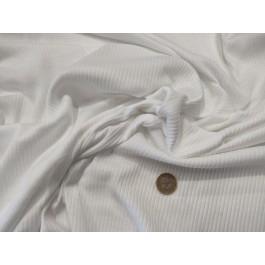 Jersey blanc peigné