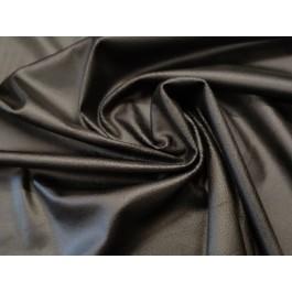 Suedine d'habillement noire...