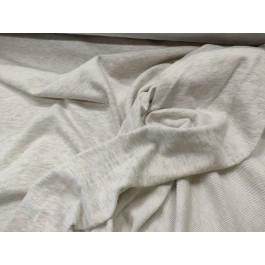 Molleton gris clair chiné