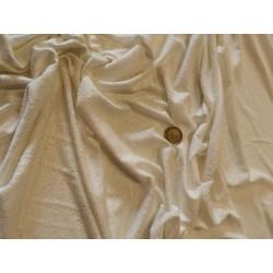 Jersey poly-coton ajouré