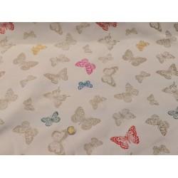 Jacquard papillons colorés