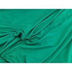 Jersey uni vert menthe 160cm